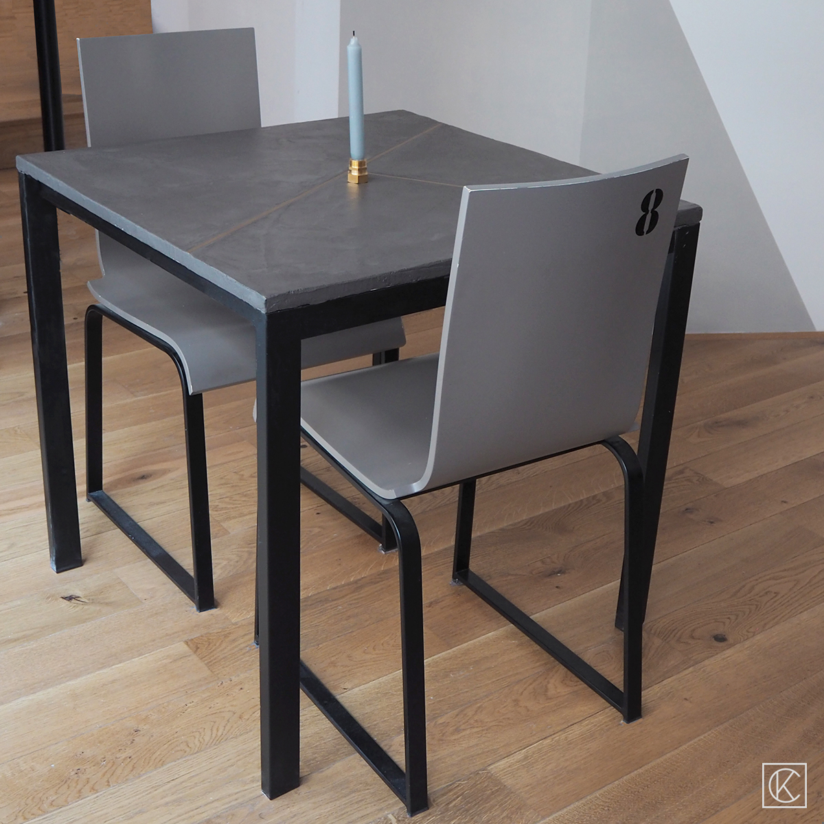 Table Carree Ikea Ikea Hack Une Table Béton Laiton Kraft Carat