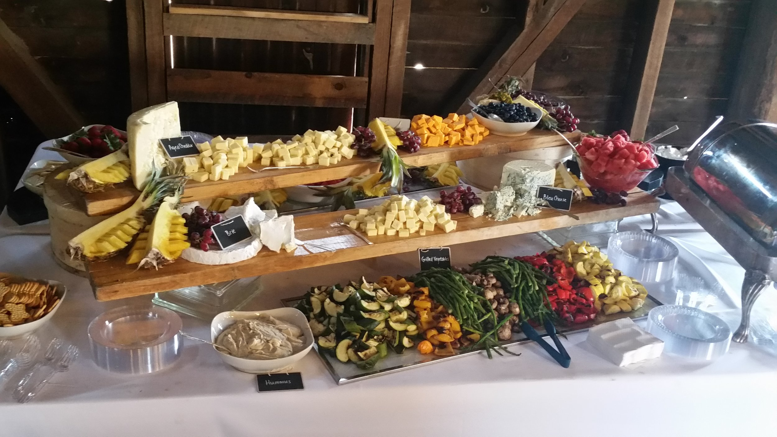 Mediterrane Küche An Bord Weddings The Carriage House By Chef Hosch Ann Catering