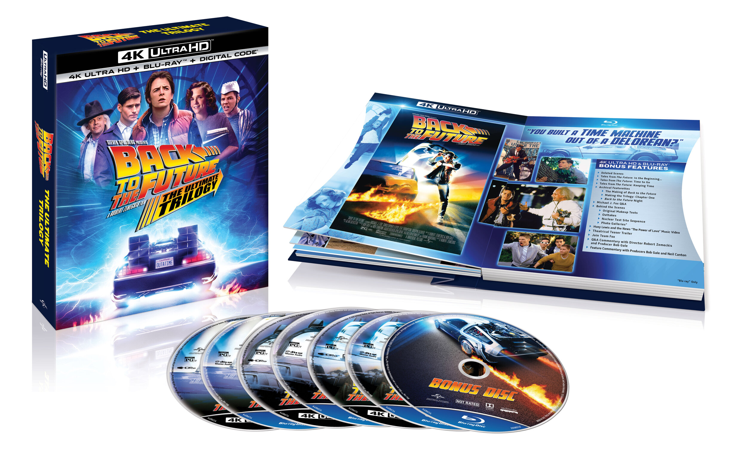 Back To The Future Trilogy One Of The Biggest Motion Picture Trilogies Comes To 4k Ultra Hd For The First Time Ever