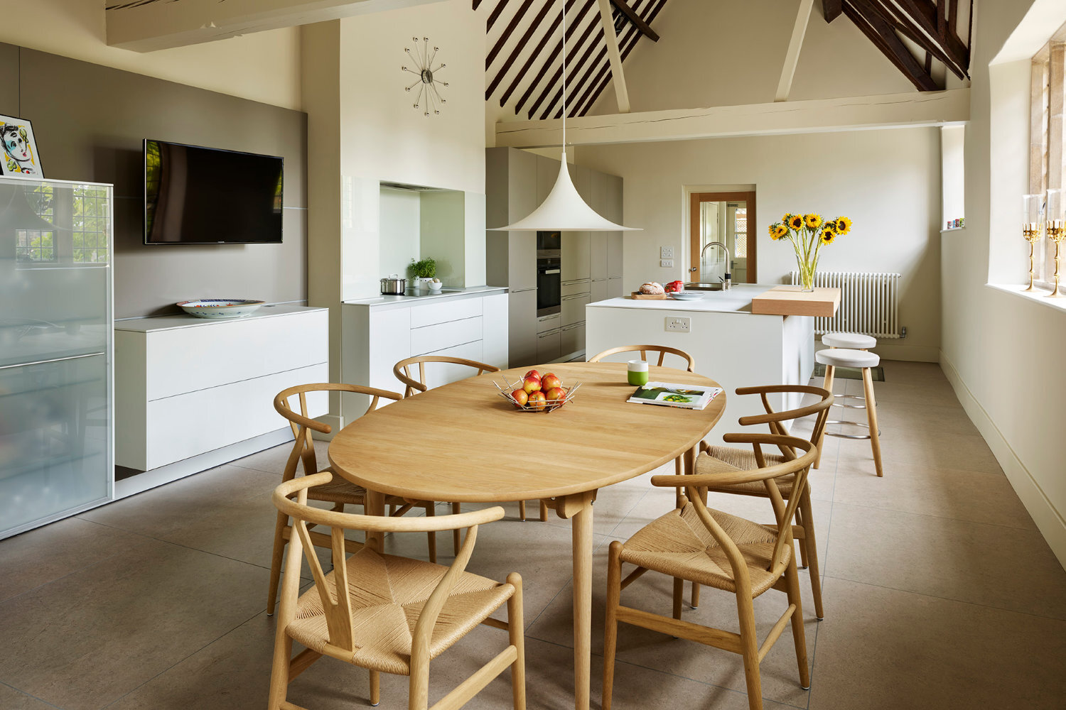 Bulthaup B3 Minimalist Modern Bulthaup Kitchen Period Listed Building<br/> | Luxury Kitchens & Bathrooms | Bath Winchester Swindon | Hobson's Choice