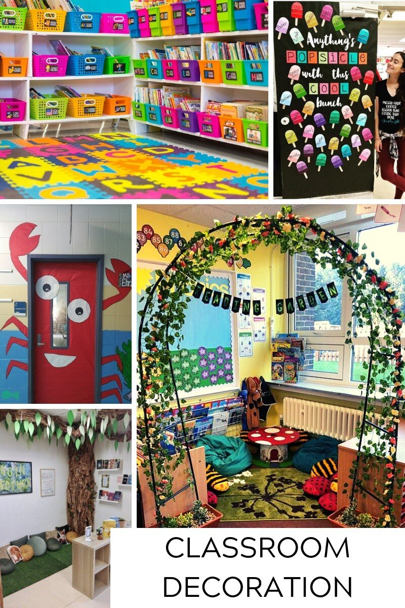Classroom Decoration Ideas That Engage And Inspire Innovative Teaching Ideas Teaching Resources