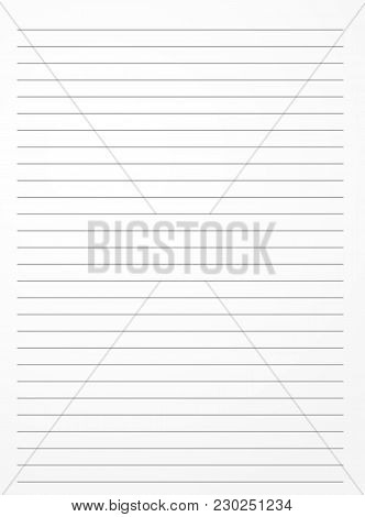 Striped Notebook Vector  Photo (Free Trial) Bigstock - note paper template
