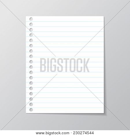 White Sheet Paper Vector  Photo (Free Trial) Bigstock
