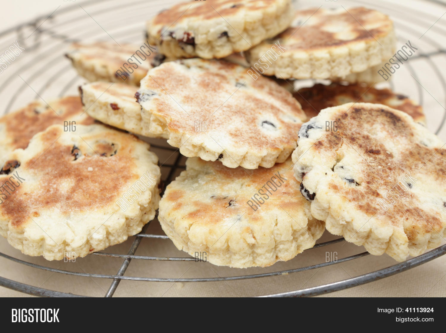 Walisische Küche Wales Newly Home Made Welsh Image Photo Free Trial Bigstock