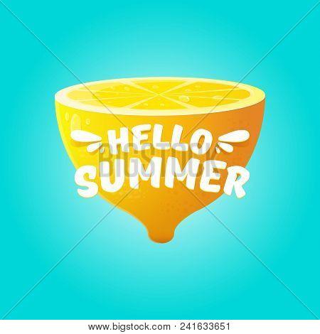 Vector Hello Summer Vector  Photo (Free Trial) Bigstock