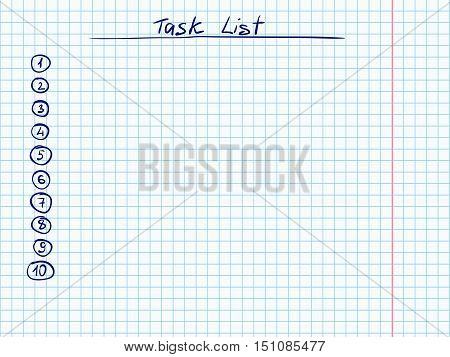 Doodle Checklist Task Vector  Photo (Free Trial) Bigstock