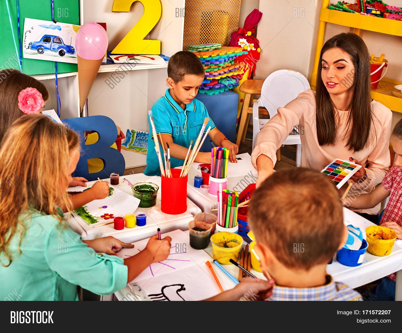 Imagen Y Foto Children Painting Prueba Gratis Bigstock