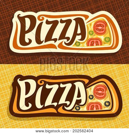 Vector Banners Pizza Vector  Photo (Free Trial) Bigstock