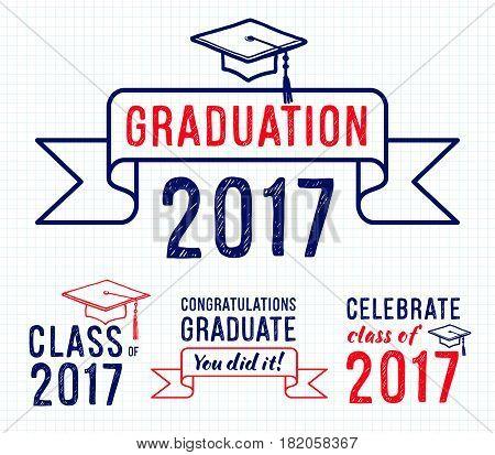 Congratulations Vector  Photo (Free Trial) Bigstock - congratulation graduation