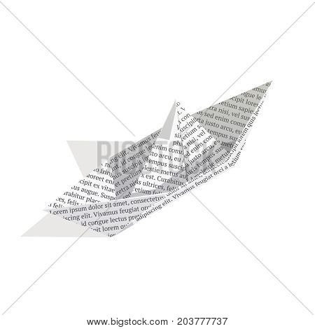 Isometric Paper Boat Vector  Photo (Free Trial) Bigstock