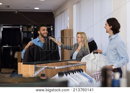 Female Shop Assistant Image  Photo (Free Trial) Bigstock
