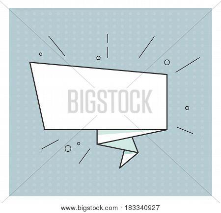 Empty Ribbon Banner Vector  Photo (Free Trial) Bigstock