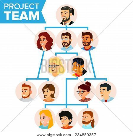 Project Team Vector  Photo (Free Trial) Bigstock