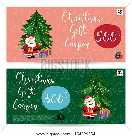 Christmas Voucher Vector  Photo (Free Trial) Bigstock