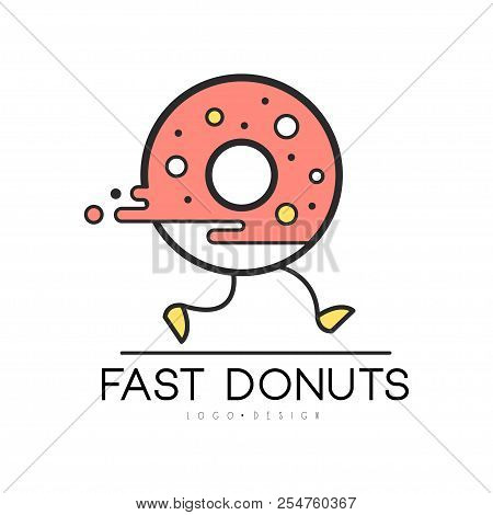 Fast Donut Logo Vector  Photo (Free Trial) Bigstock
