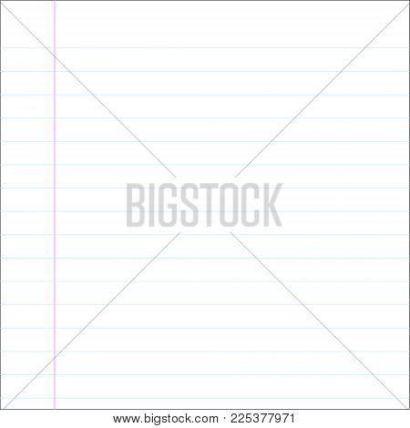 School Notebook Paper Vector  Photo (Free Trial) Bigstock