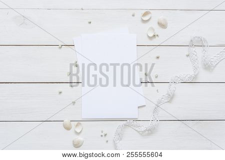 Cute White Flat Lay Image  Photo (Free Trial) Bigstock