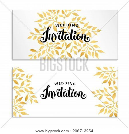 Gold Line Floral Image  Photo (Free Trial) Bigstock - frame for cards