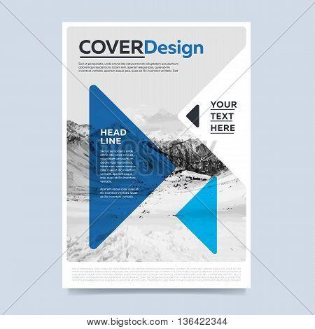 Colorful Brochure Vector  Photo (Free Trial) Bigstock - modern brochure design