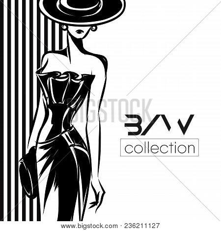 Black White Fashion Vector  Photo (Free Trial) Bigstock