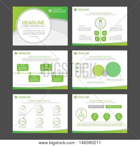 Set Color Infographic Elements Vector  Photo Bigstock - flyer layout templates