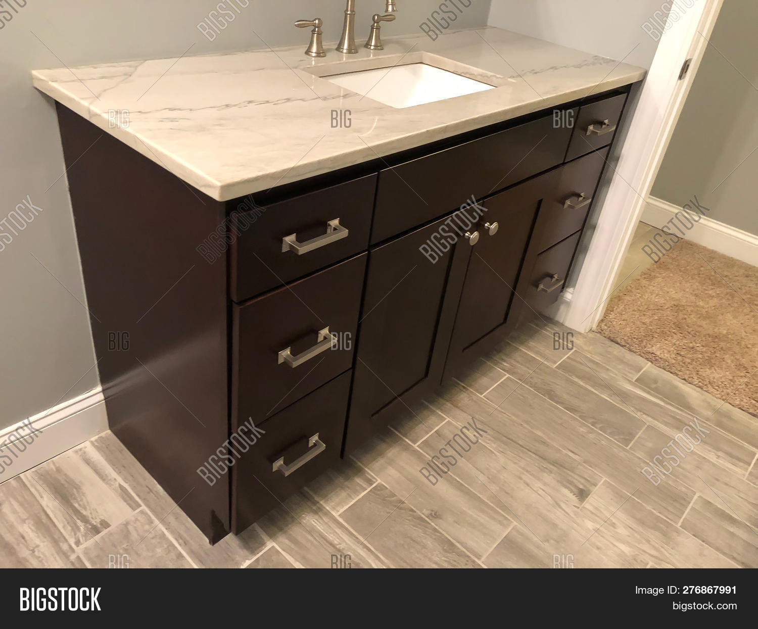 Bathroom Cabinet Image Photo Free Trial Bigstock