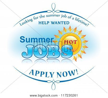 Summer Jobs Offer Vector  Photo (Free Trial) Bigstock