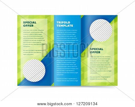 Tri Fold Cover Inside Vector  Photo (Free Trial) Bigstock
