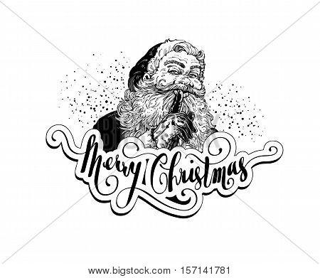 Vintage Santa Claus Vector  Photo (Free Trial) Bigstock