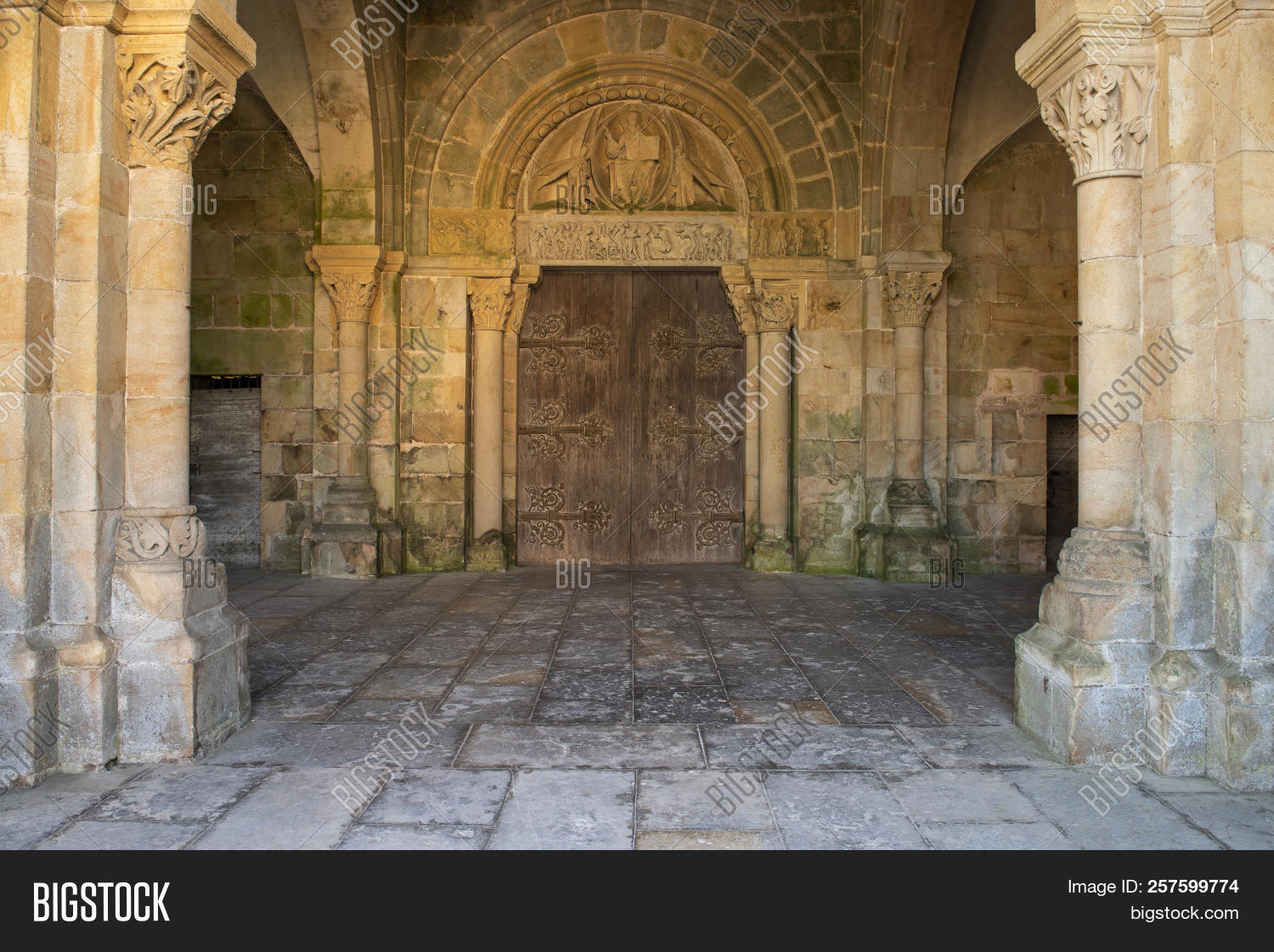 Pierre Bourgogne Romanesque Church Image Photo Free Trial Bigstock