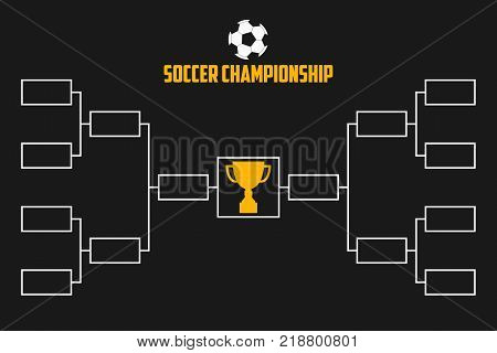 Tournament Bracket Vector  Photo (Free Trial) Bigstock