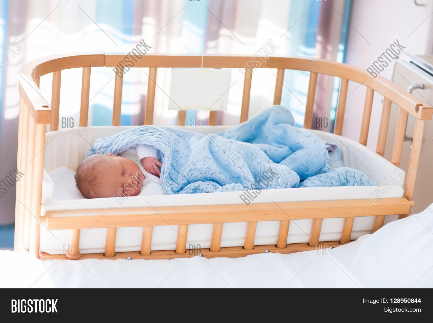 Newborn Bassinet Best Newborn Baby Hospital Image Photo Free Trial Bigstock