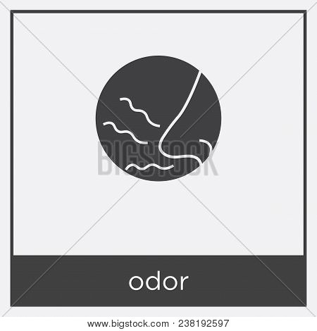 Odor Icon Isolated On Vector  Photo (Free Trial) Bigstock