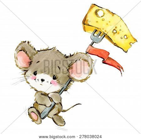 Cartoon Mouse Image  Photo (Free Trial) Bigstock