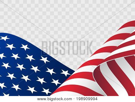 Waving Flag United Vector  Photo (Free Trial) Bigstock - America Flag Background