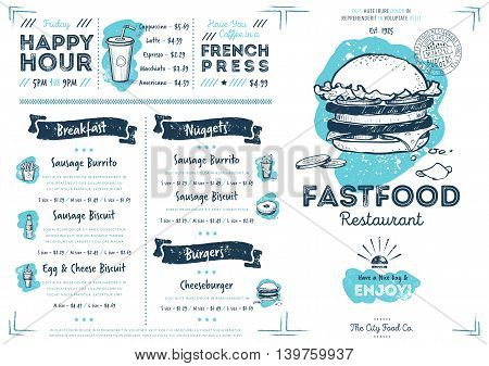 Restaurant Menu Vector  Photo (Free Trial) Bigstock