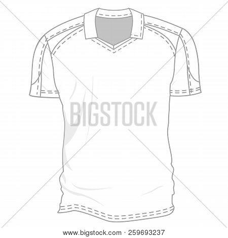 White Blank T-shirt Vector  Photo (Free Trial) Bigstock
