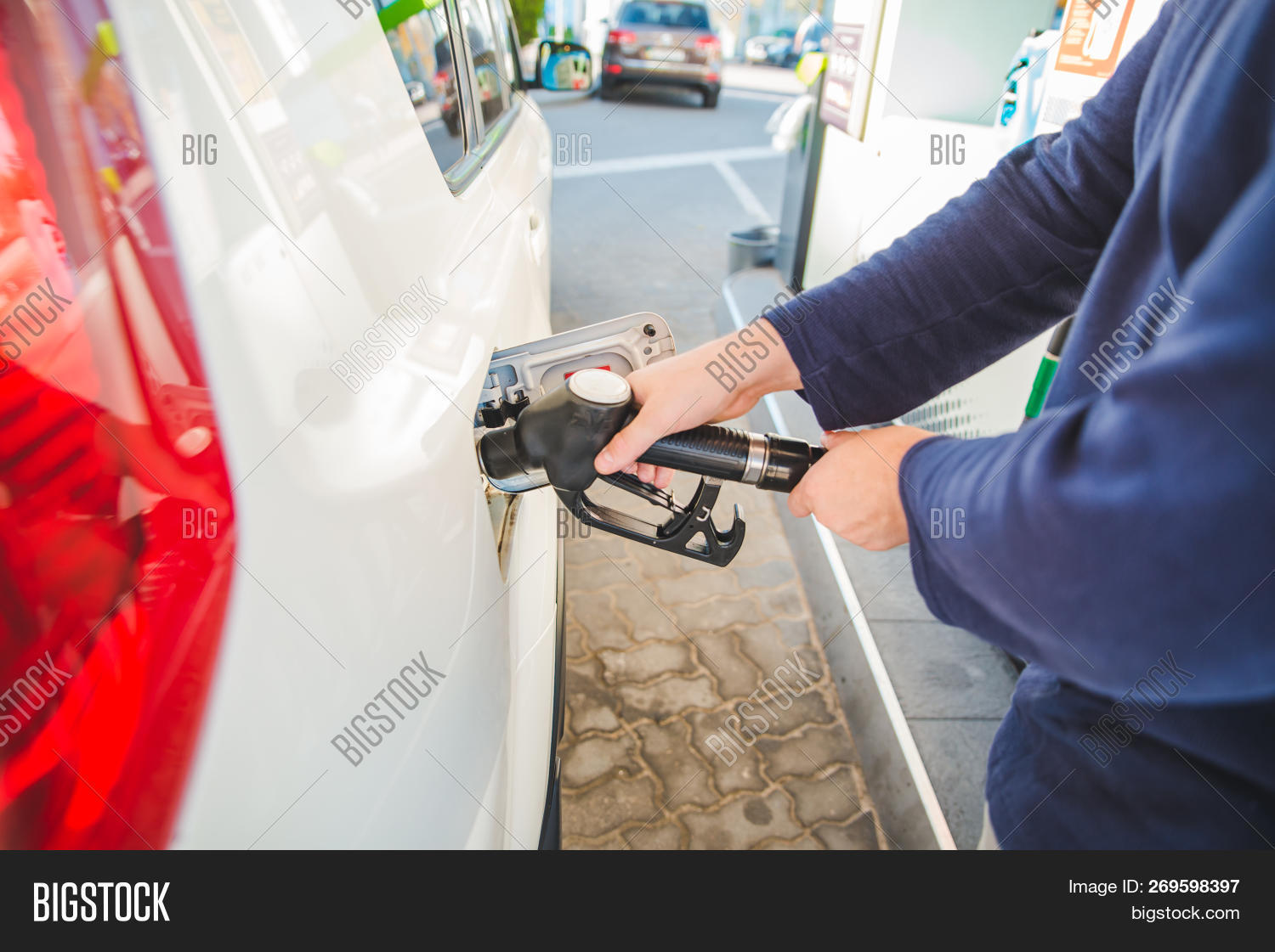 Gas Road Trip Refueling Car Gas Image Photo Free Trial Bigstock