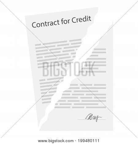 Terminated Business Vector  Photo (Free Trial) Bigstock