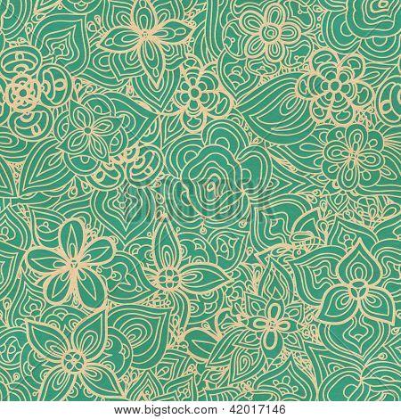 Floral pattern wallpaper large beautiful floral leaf paper