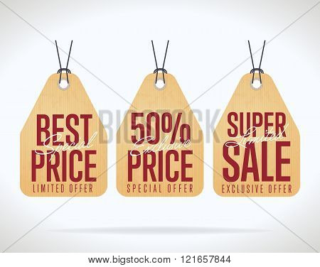 Sale Tag Vector Isolated Sale Vector \ Photo Bigstock - sale tag template