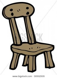 old wood chair cartoon Stock Photo & Stock Images | Bigstock