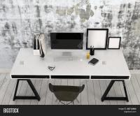 3D Rendering Modern Stylish Black Image & Photo | Bigstock