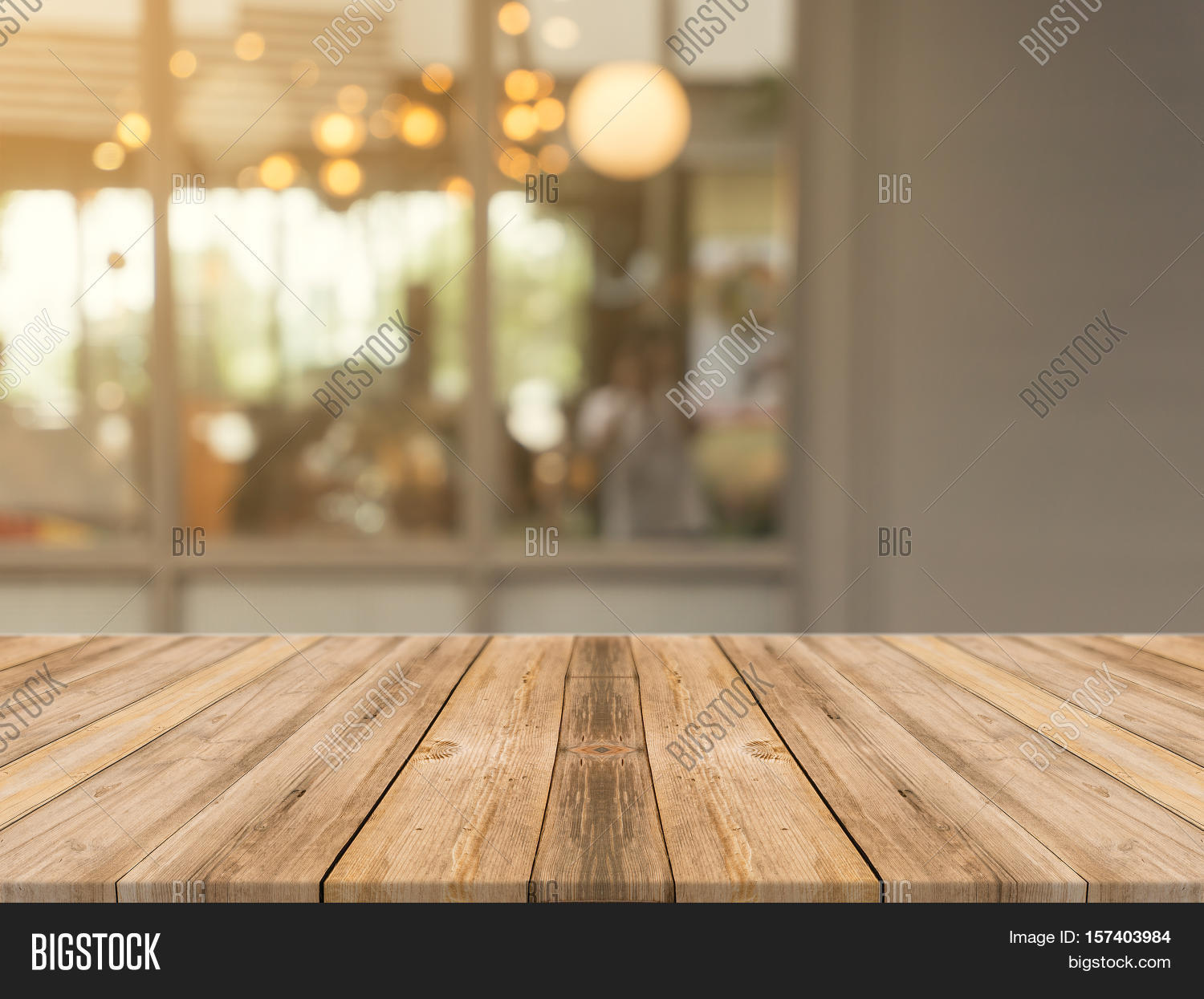 Rustic Fall Wallpaper Wooden Board Empty Table Top On Image Amp Photo Bigstock