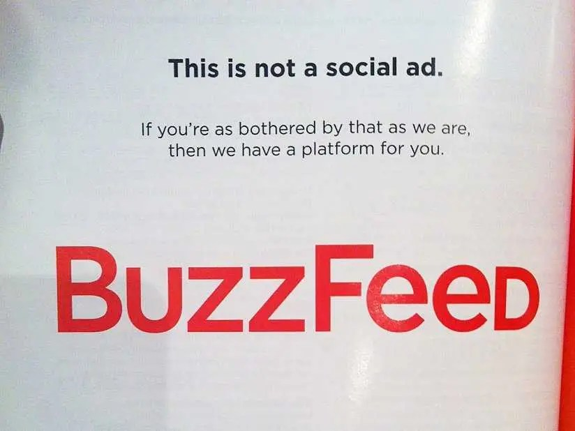 Think about advertising differently.