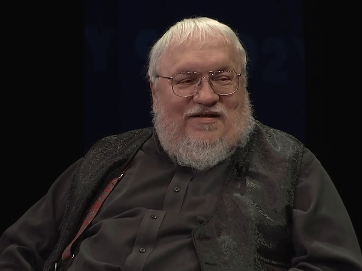 George Rr Martin Libros Game Of Thrones George R R Martin On Meeting Hbo Creators Business Insider