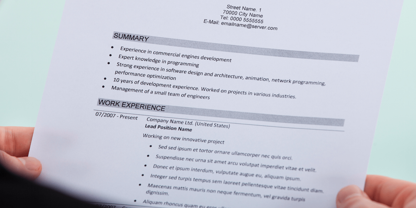 how to make your resume visually stand out how to make your resume stand out visually