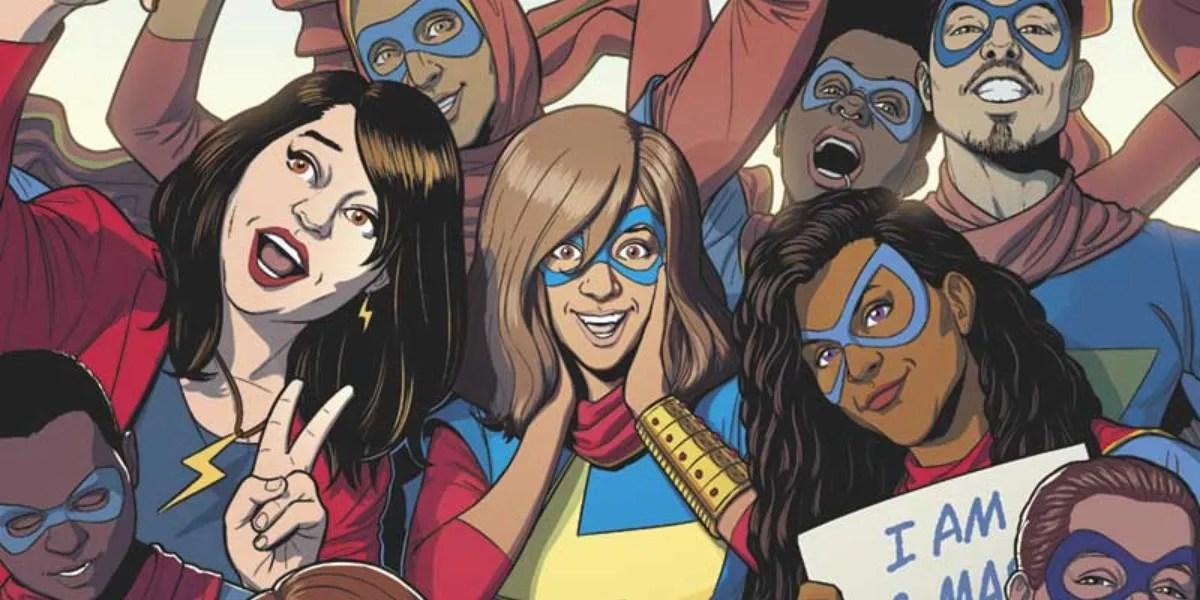 Ms Marvel Jamie McKelvie Unveils His Cover for Wilson\u0027s Final Issue