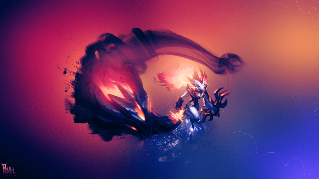 Lol Champions Wallpaper Hd Shadowfire Kindred Lolwallpapers