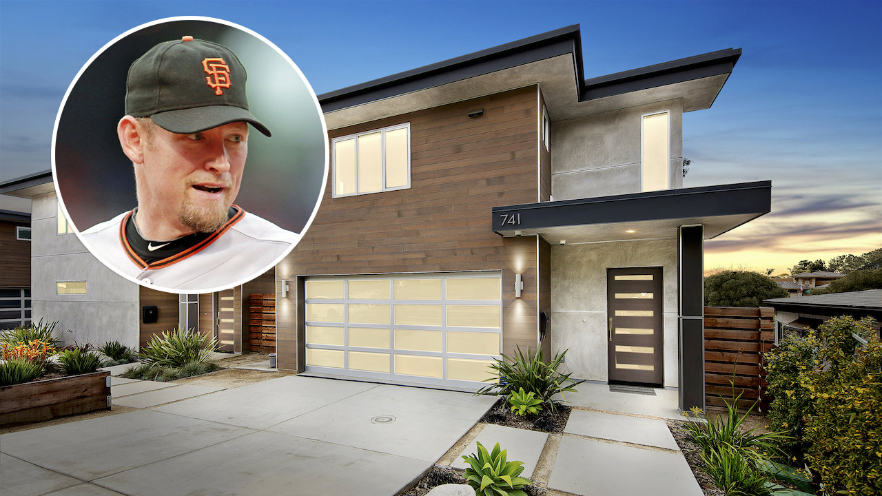 Huff House Baseball Player Aubrey Huff Lists California Home For 2 275m
